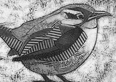 Carolina Wren Art Print, Original Collograph of Small Chunky Bird, Carolina Wren Art Prints, Woodblock Print, Original Prints, Animal Art, Collagraph, Bird Artwork, Print Artist, Bird Art, Collagraphy