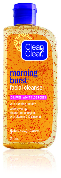 Clean and Clear Morning Burst <3