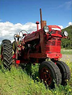 I love old Tractors