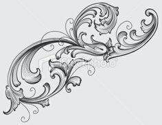 All About Art Tattoo Studio Rangiora. Quality work by Professional Artist. Mandala, Filigrana Tattoo, Elements Of Art, Design Elements, Filigranes Design, Ornament Drawing, Floral Drawing, Scroll Pattern, Hand Engraving