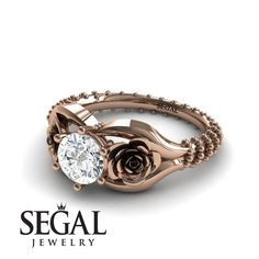 Rose Gold Engagement Rings for women carat t. diamond ring Gift Box Authenticity cards Riviera Shank (G, SI) (Ring Size – Fine Jewelry & Collectibles Vintage Style Rings, Dream Ring, Rose Gold Engagement Ring, Unique Rings, Stylish Rings, Diamond Rings, Wedding Rings, Gold Wedding, Dream Wedding
