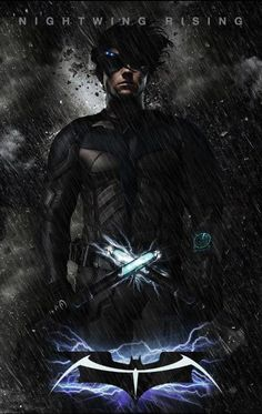 Nightwing Rising Concept Poster. It. is. so. beautiful!