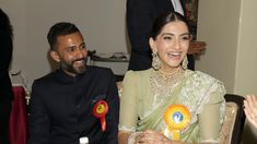 Sonam Kapoor and Akshay Kumar receive their National Film Awards