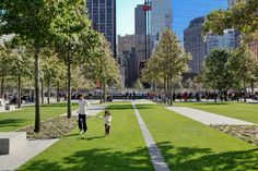 National 9/11 Memorial by PWP Landscape Architecture