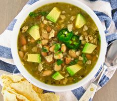 Quinoa Chili Verde is full of heartiness and flavor