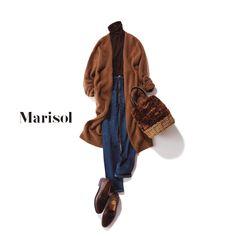 ほっそり見えするデニムコーデからビターなモカブラウンコーデまで【アラフォーの1週間コーデ】 | ファッション誌Marisol(マリソル) ONLINE 40代をもっとキレイに。女っぷり上々! Fashion Pants, Fashion Outfits, Womens Fashion, Shirt Refashion, Mode Hijab, Weekend Wear, Denim Outfit, Muslim Fashion, Classic Outfits