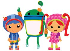 Team Umizoomi Redesigns by ChameleonCove on deviantART