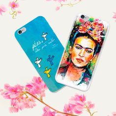 """""""Pies, para qué los quiero si tengo alas para volar"""". Frida Kahlo  Funda para celular"""