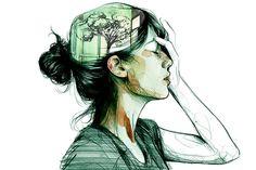Cool expressive illustrations by Paula Bonet