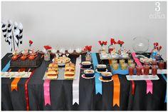 Mesa de festa junina - http://www.tresemcasa.com.br/2015/07/a-festa-junina.html