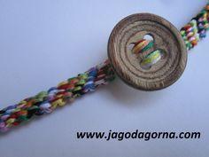 Czerwcowe DIY Jak ożywic zwykłą bransoletkę? http://www.jagodagorna.com/czerwcowe-diy-jak-ozywic-zwykla-bransoletke/