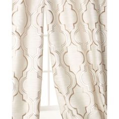 "Each 96""L Aberdeen Curtain (16.935 RUB) ❤ liked on Polyvore featuring home, home decor, window treatments, curtains, sand, polyester curtains, tab curtains and rod pocket curtains"