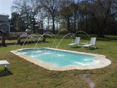 Swiming Pools Fiberglass In Ground Pools With Pool Deck Jets Also Stainless Pool Loungers And In Ground Pumps Besides Above Ground Liners  Patio Accessories Furniture  In Ground Pool Liners  Landscaping Design   Stylish Fiberglass in Ground Pools