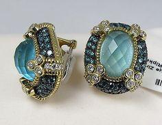 Judith Ripka monaco earrings