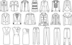 como fazer um desenho técnico de moda - Pesquisa Google