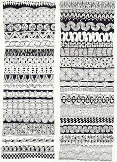 horizontal patterns