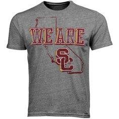 USC Trojans We Are SC Tr-Blend T-Shirt - Ash  #UltimateTailgate #Fanatics