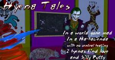 And then there was the year Joker took over the Cat-Tales site for April Fool's Day. Who remembers HYENA TALES? Batman Humor, Silly Putty, April Fools Day, Hyena, Catwoman, Joker, Cats, Gatos, The Joker