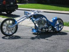 This custom chopper runs a 127 ultima engine, baker 6 speed with 50 degree rake. Bagger Motorcycle, Motorcycle Design, Girl Motorcycle, Motorcycle Quotes, Custom Street Bikes, Custom Bikes, Cool Motorcycles, Triumph Motorcycles, Road Glide Custom