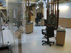 Art conservation laboratory