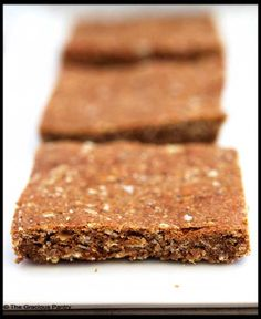 Clean Eating Pumpkin Spice Protein Bars  (Makes 15 bars)  Ingredients  1 1/2 cups quick oats (the 3 minute kind)  1 cup peanut butter (I use creamy)  1/2 cup honey  1/2 cup pumpkin (I used canned and organic)  1/2 cup apple sauce (unsweetened)  1 cup whey protein powder  2 tbsp. pumpkin pie spice (no sugar added)
