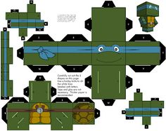 CubeeCraft: Teenage Mutant Ninja Turtles