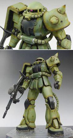 [MG] Zaku II MS-06J