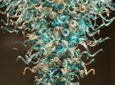 Chihuly Chandelier - Virginia Museum of Fine Art