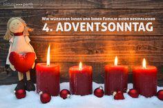 Wir wünschen Ihnen und Ihrer Familie einen besinnlichen  4. ADVENTSONNTAG  Genießen Sie die Zeit mit Ihren Liebsten...   #Advent #Weihnachten #Liebe #Fest