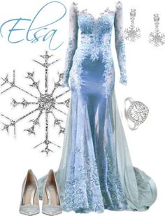Elsa inspired fashion #DisneyFrozen