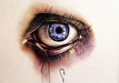 (Uk) gcse art, pencil illustration, art world, pencil drawings, eye drawing Kate Powell, Illustration Au Crayon, Angry Eyes, Realistic Eye Drawing, Drawing Eyes, A Level Art, Eye Art, Drawing People, Art World