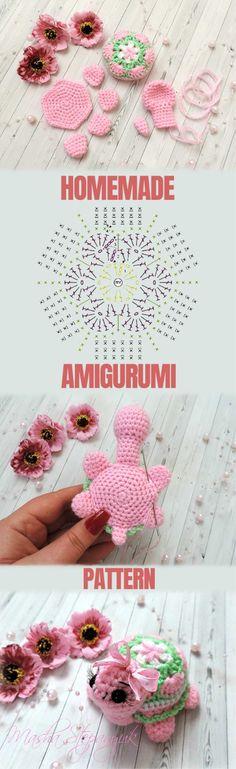 How to make Amigurumi Turtle - Amigurumi Tutorial