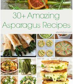 30+ Amazing Asparagus Recipes