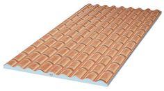 Thermotop - Thermotuile - panneaux isolants ondules imitation tuile