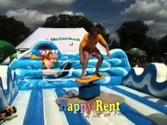 Surfsimulator Huren Happy Rent Attractie Verhuur Surfsimulator Verhuur