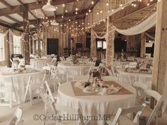 Barn Reception - Cedar Hill Farm - Hernando,MS