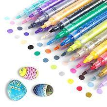 Paint Marker Pen, Acrylic Paint Pens, Acrylic Colors, Paint Pens For Rocks, Waterproof Paint, Diy Crafts How To Make, Diy Artwork, Fabric Markers, Pen Sets