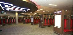 Arizona Football Facility Locker Room