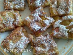 Fotorecept: Hrnčekový rebarborový koláč