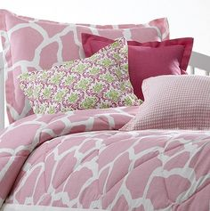 Pink Comforter Sets | Cute Girls Bedding | Liz and Roo Fine Baby Bedding