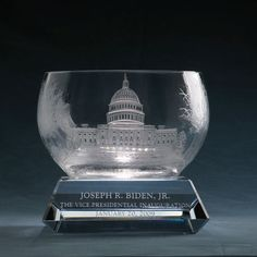 Biden 2009 Inaugural Bowl #lenoxgift #inauguration