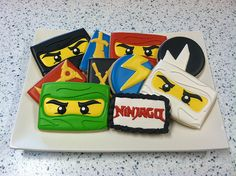 Google Image Result for http://theartofthecookie.com/wp-content/uploads/2012/06/Ninjago-Cookies.jpg