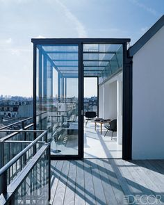 Rooftop terrace inspiration