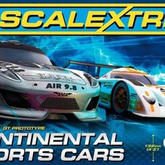 Scalextric 1:32 Scale Continental Sports Cars Race Set... 49.99
