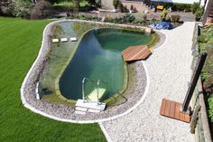 A new swimming pond