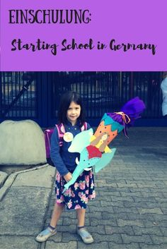 Einschulung: Back to school traditions in Germany School Days, Back To School, Third Culture Kid, Starting School, American English, Educational Activities, World Cultures, My Children, Teaching Kids