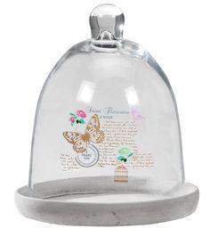 Glazen stolp Florentien: zet je mooiste woonaccessoires in de spotlights #romantisch