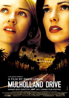 """Mulholland Drive - David Lynch 2001 - DVD04484 -- """"After a car wreck on Mulholland Drive renders a woman amnesic, she and a perky Hollywood-hopeful search for answers across LA in a twisting venture beyond dreams and reality."""""""