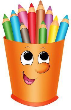 Let's make puppet puppets School Days, Back To School, Decoration Creche, School Clipart, Cute Clipart, School Pictures, Classroom Decor, Preschool Activities, School Supplies
