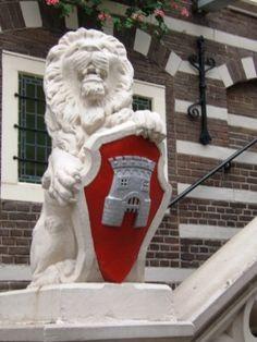 Wapen van Alkmaar, met de dwangburcht Torrenburg